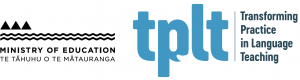 Ministry of Education and TPLT logos