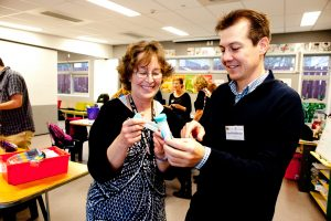 Primary teachers in Auckland attended a korero with scientists