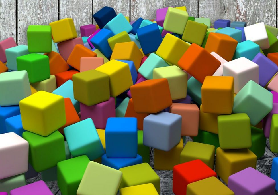 coloured-cubes